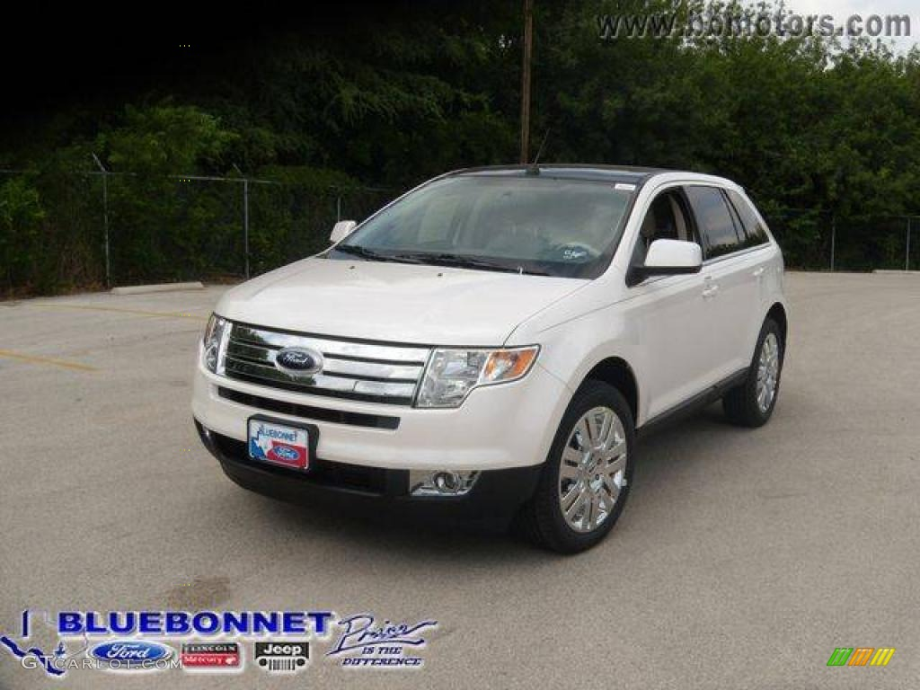 2009 white platinum tri coat ford edge limited awd. Black Bedroom Furniture Sets. Home Design Ideas