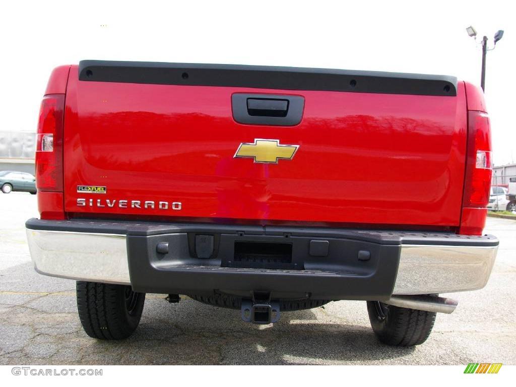 2009 Silverado 1500 Extended Cab 4x4 - Victory Red / Dark Titanium photo #7