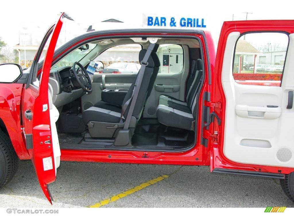 2009 Silverado 1500 Extended Cab 4x4 - Victory Red / Dark Titanium photo #15