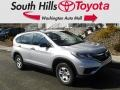 2015 Alabaster Silver Metallic Honda CR-V LX AWD  photo #1
