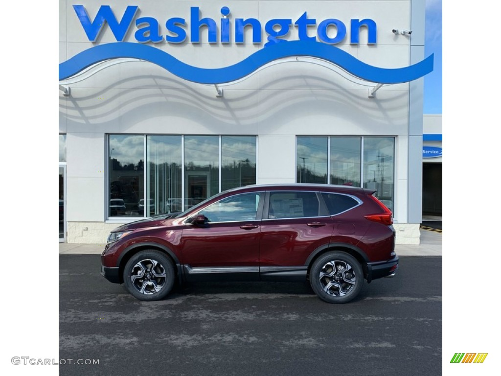 2019 Basque Red Pearl Ii Honda Cr V Touring 132012476