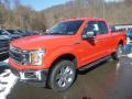 2019 Race Red Ford F150 XLT SuperCab 4x4  photo #5