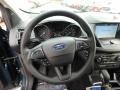 Chromite Gray/Charcoal Black Steering Wheel Photo for 2019 Ford Escape #132047148