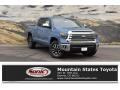 2019 Cavalry Blue Toyota Tundra Limited CrewMax 4x4  photo #1