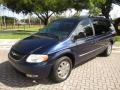 Midnight Blue Pearlcoat 2004 Chrysler Town & Country Limited