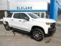 2019 Summit White Chevrolet Silverado 1500 Custom Z71 Trail Boss Crew Cab 4WD  photo #5