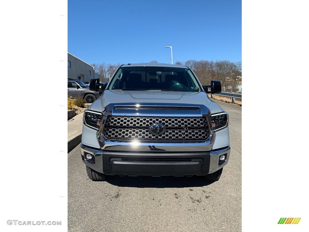 2019 Tundra SR5 Double Cab 4x4 - Cement / Graphite photo #2