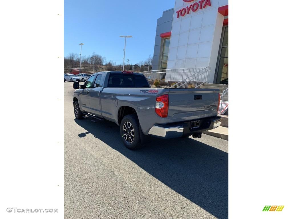 2019 Tundra SR5 Double Cab 4x4 - Cement / Graphite photo #6