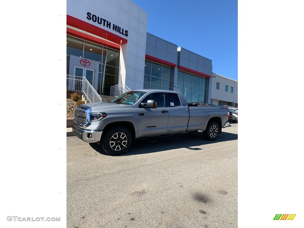 2019 Tundra SR5 Double Cab 4x4 - Cement / Graphite photo #7