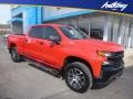 2019 Red Hot Chevrolet Silverado 1500 Custom Z71 Trail Boss Crew Cab 4WD #132089842