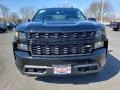 2019 Black Chevrolet Silverado 1500 Custom Double Cab 4WD  photo #2