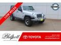Bright Silver Metallic - Wrangler Unlimited X 4x4 Photo No. 1