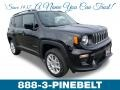 Black 2019 Jeep Renegade Latitude 4x4