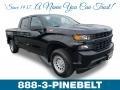 2019 Black Chevrolet Silverado 1500 WT Crew Cab 4WD #132109472