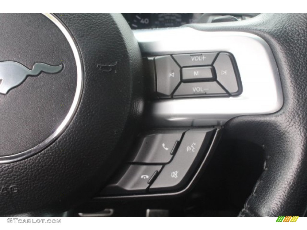 2016 Mustang GT Premium Coupe - Oxford White / California Special Ebony Black/Miko Suede photo #16