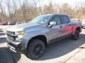 Satin Steel Metallic 2019 Chevrolet Silverado 1500 Custom Z71 Trail Boss Double Cab 4WD