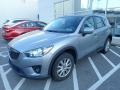 Liquid Silver Metallic 2015 Mazda CX-5 Touring