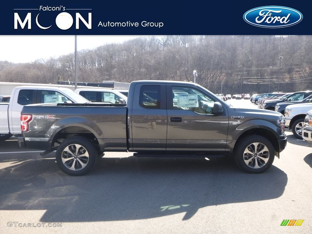 2019 F150 STX SuperCab 4x4 - Magnetic / Earth Gray photo #1