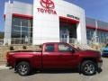 2014 Deep Ruby Metallic Chevrolet Silverado 1500 WT Double Cab 4x4  photo #2