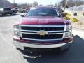 2014 Deep Ruby Metallic Chevrolet Silverado 1500 WT Double Cab 4x4  photo #6