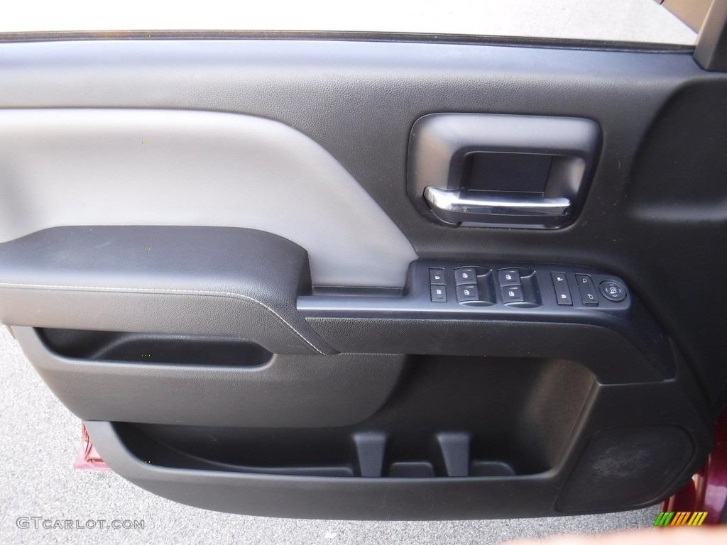 2014 Silverado 1500 WT Double Cab 4x4 - Deep Ruby Metallic / Jet Black/Dark Ash photo #14