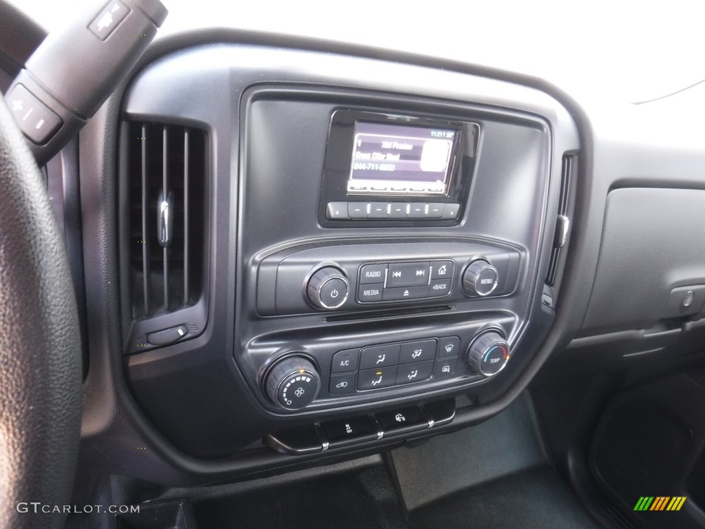 2014 Silverado 1500 WT Double Cab 4x4 - Deep Ruby Metallic / Jet Black/Dark Ash photo #18