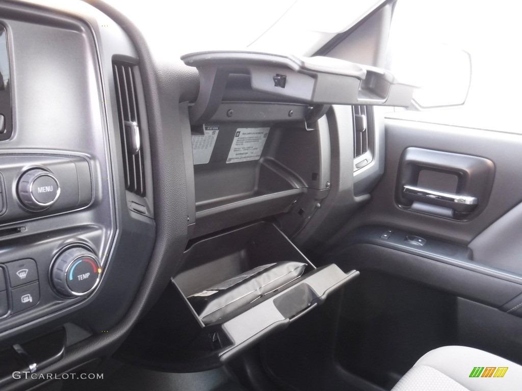 2014 Silverado 1500 WT Double Cab 4x4 - Deep Ruby Metallic / Jet Black/Dark Ash photo #22