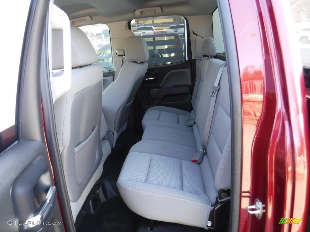 2014 Silverado 1500 WT Double Cab 4x4 - Deep Ruby Metallic / Jet Black/Dark Ash photo #23