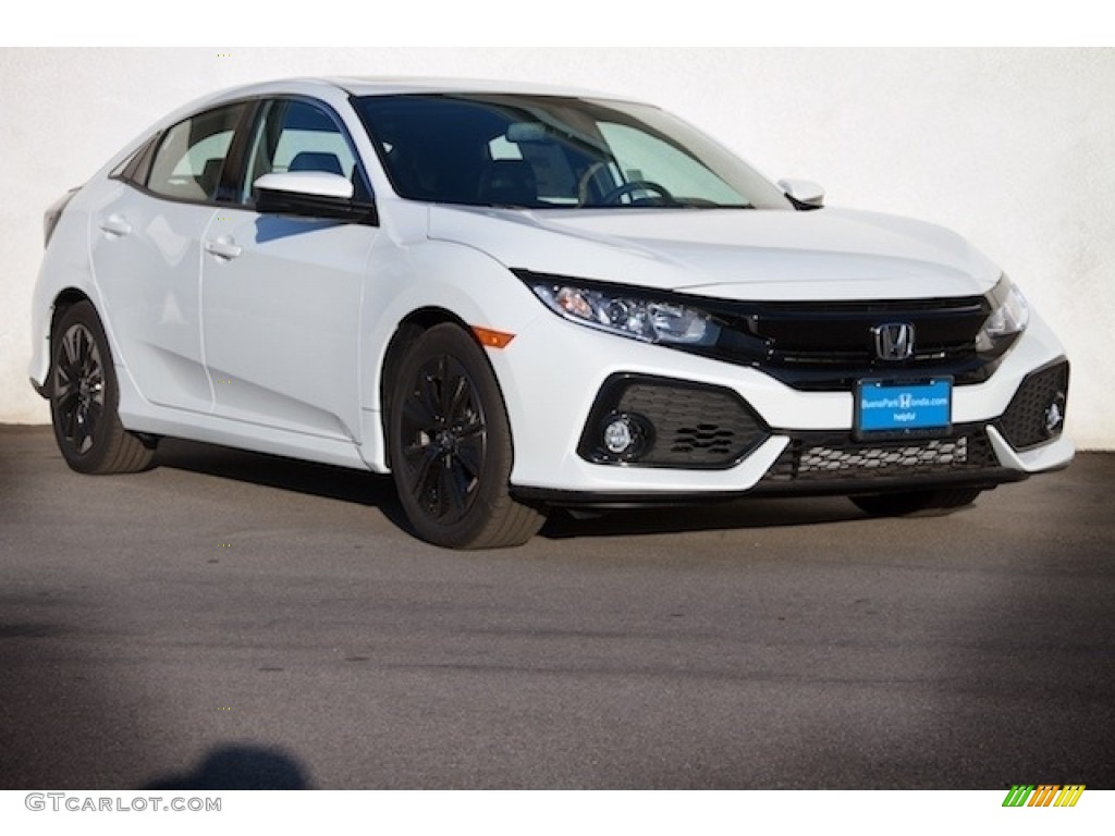2019 White Orchid Pearl Honda Civic Ex Hatchback 132128944 Gtcarlot Com Car Color Galleries