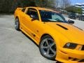 2007 Grabber Orange Ford Mustang Saleen S281 Supercharged Coupe  photo #47