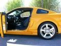 2007 Grabber Orange Ford Mustang Saleen S281 Supercharged Coupe  photo #55
