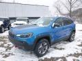 Hydro Blue Pearl 2019 Jeep Cherokee Trailhawk 4x4