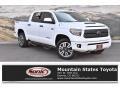 2018 Super White Toyota Tundra SR5 CrewMax 4x4 #132155908