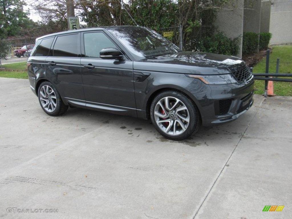 2019 Carpathian Grey Metallic Land Rover Range Rover Sport