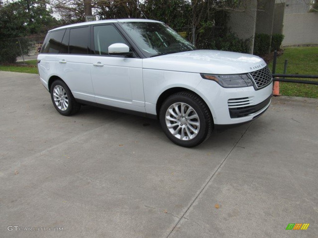 2019 Range Rover HSE - Yulong White Metallic / Espresso/Almond photo #1