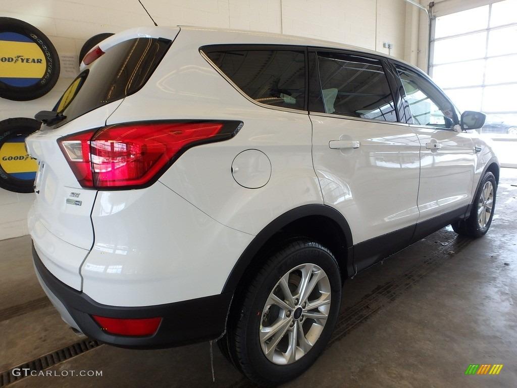 2019 Escape SE 4WD - Oxford White / Chromite Gray/Charcoal Black photo #2