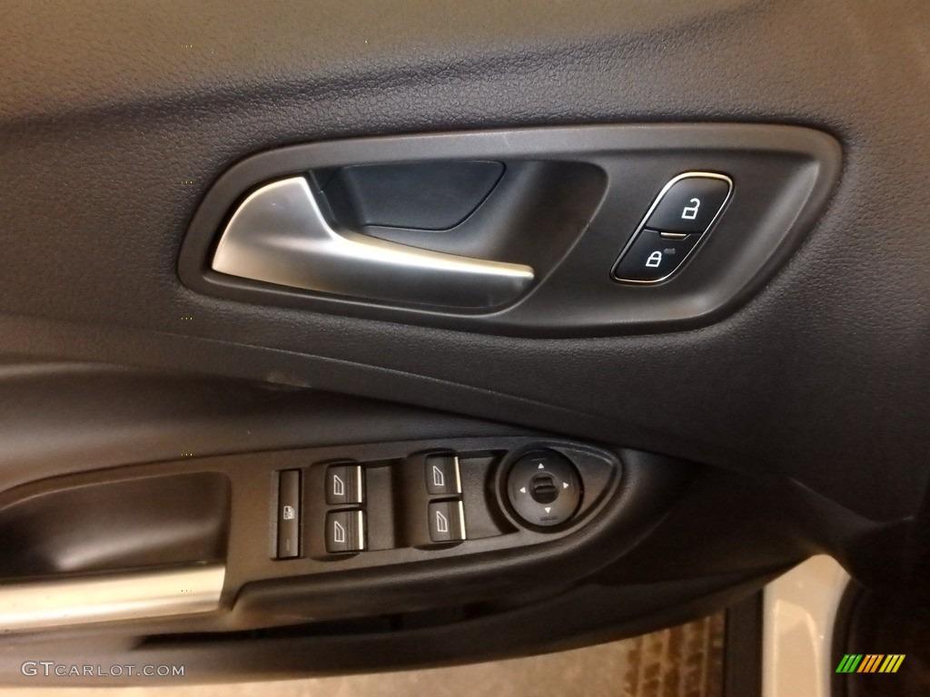 2019 Escape SE 4WD - Oxford White / Chromite Gray/Charcoal Black photo #10