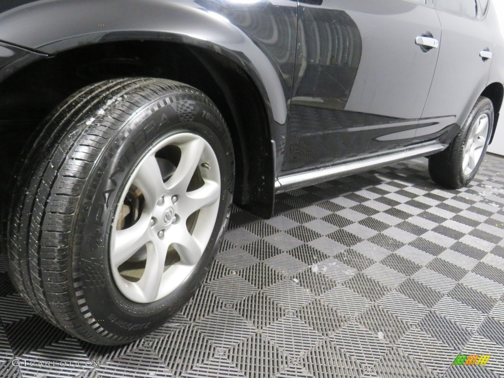 2007 Murano SE AWD - Super Black / Charcoal photo #11