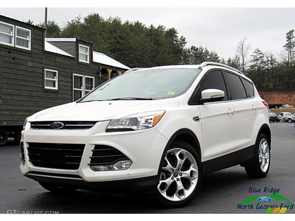 White Platinum Ford Escape