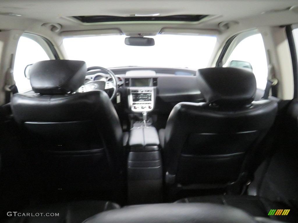 2007 Murano SE AWD - Super Black / Charcoal photo #18