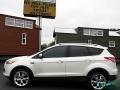 2014 White Platinum Ford Escape Titanium 2.0L EcoBoost  photo #2