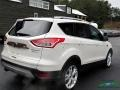 2014 White Platinum Ford Escape Titanium 2.0L EcoBoost  photo #5