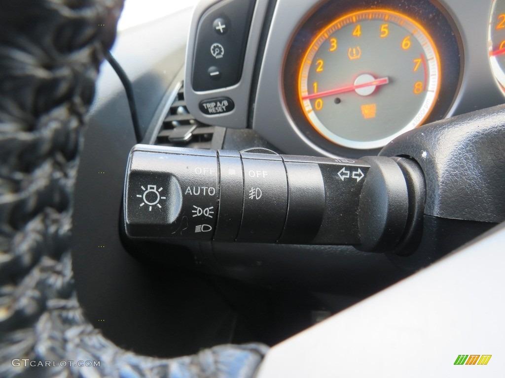 2007 Murano SE AWD - Super Black / Charcoal photo #26