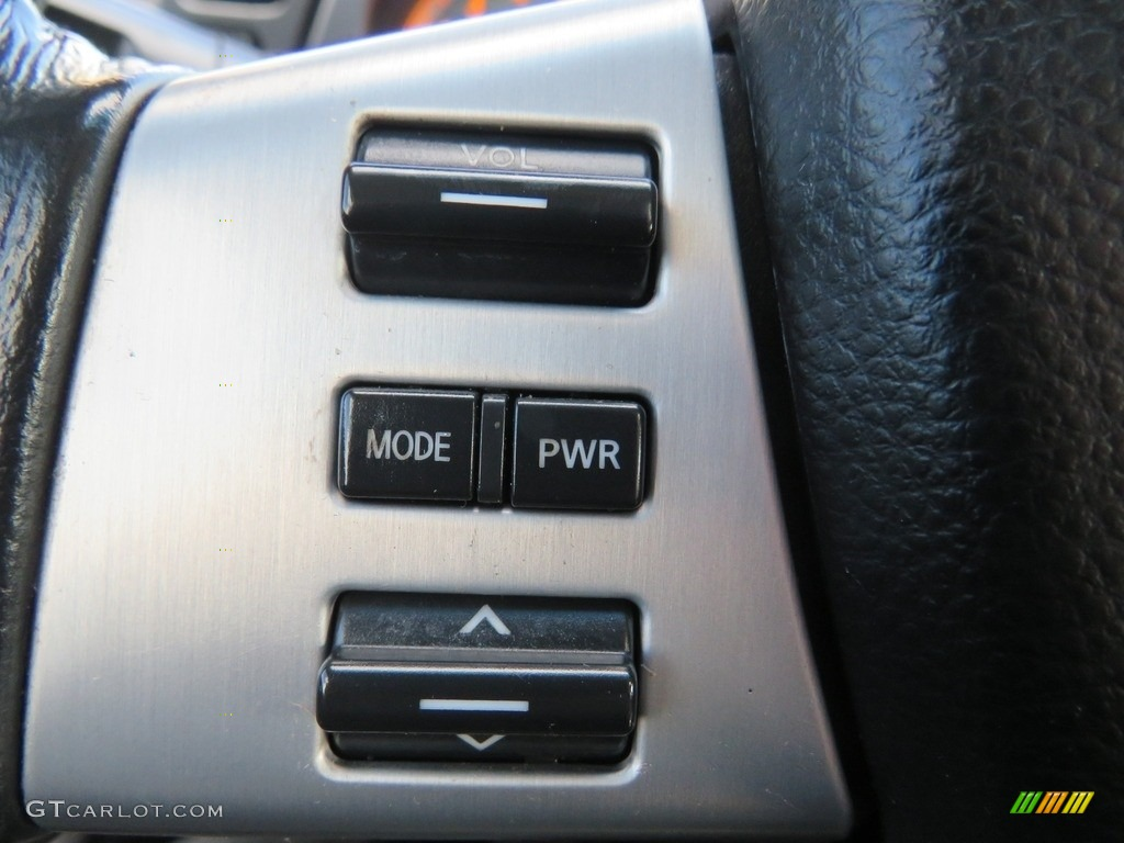2007 Murano SE AWD - Super Black / Charcoal photo #27