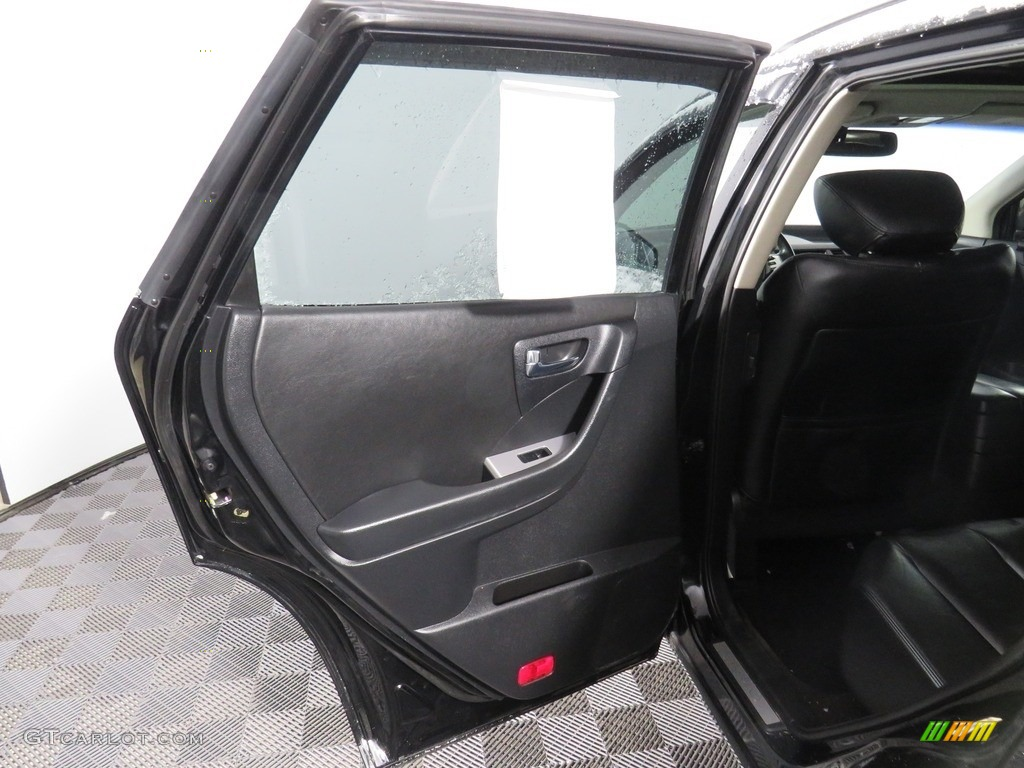 2007 Murano SE AWD - Super Black / Charcoal photo #36