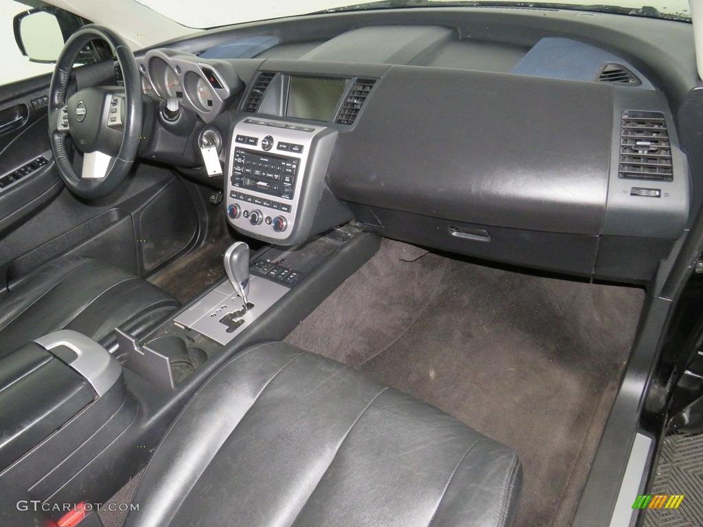 2007 Murano SE AWD - Super Black / Charcoal photo #43