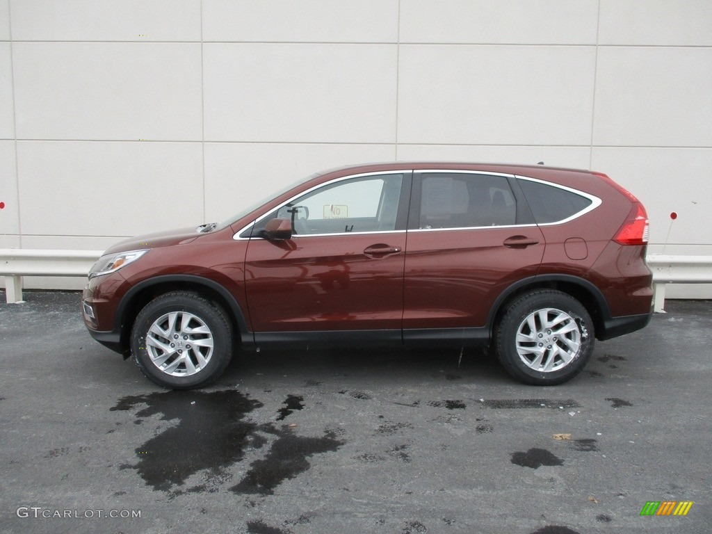 2015 CR-V EX - Copper Sunset Pearl / Black photo #2