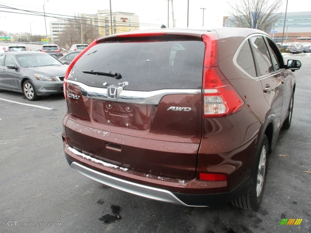 2015 CR-V EX - Copper Sunset Pearl / Black photo #5