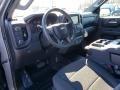 2019 Satin Steel Metallic Chevrolet Silverado 1500 WT Crew Cab 4WD  photo #7
