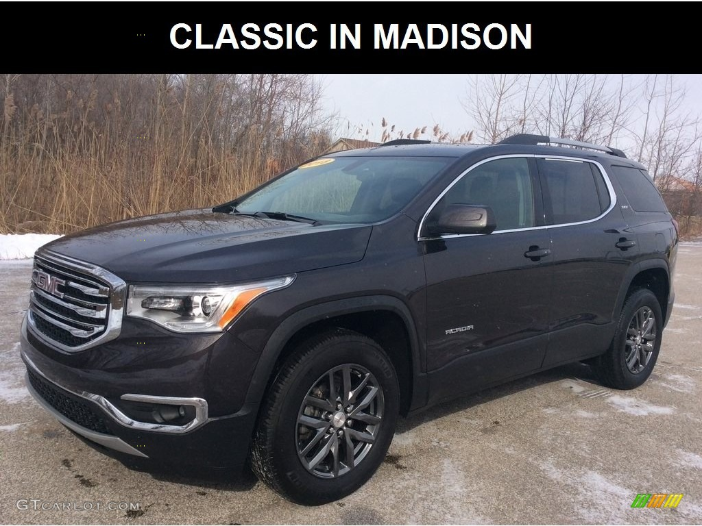 2018 Acadia SLT AWD - Iridium Metallic / Jet Black photo #1